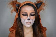From Head To Toe: Fox Halloween Tutorial!