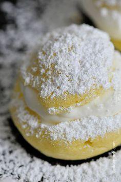 Cream Puffs Recipe | ©addapinch.com