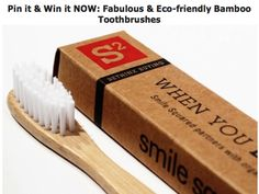 Review: Smile Squared Bamboo Toothbrushes
