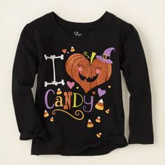 #childrensplace.com       #love                     #Halloween #candy #love #graphic                    Halloween candy love graphic tee                                              http://www.seapai.com/product.aspx?PID=673290