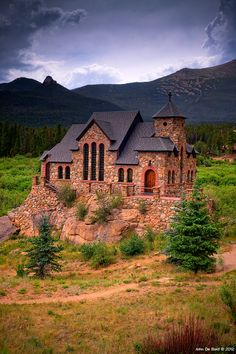 """Photo: """"Church Of The Rock"""" Located outside of Estes Park, Colorado I think it is safe to say that this is one of favorite all time locations to photograph. It is certainly an icon and is one of the most photographed churches in all of North America, then again is it any wonder why? Resembling something out of Lord Of The Rings, this place never fails to disappoint and I have several shots of it here within my Travelscapes gallery. This shot of it was one of the hardest to date with the…"""