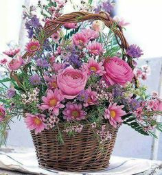 Cheer Up Flower Basket: Flower Bouquets - A heartwarming bouquet to show you care.