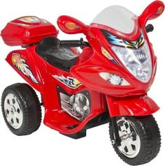Buy Jeronimo Thunder Bike Electronic Ride-On (Red) for R848.00
