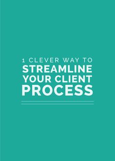 For designers - 1 Clever Way to Streamline Your Client Process - Elle & Company Business Design, Creative Business, Business Branding, Business Advice, Online Business, Branding Services, Business Marketing, Content Marketing, Media Marketing