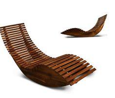 Wooden-Sun-Lounger-Patio-Rocking-Chair-Garden-Sunbed-Hardwood-Sauna-Seat-Relax