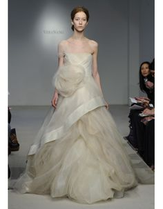 A-line- vera wang spring 2012- like to overall feel- ethereal flowy but not the flange bias cut right in your face?