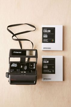 Vintage Impossible Project One Step Camera Kit 《pinterest: @ninabubblygum》
