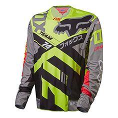 Amazon.com   Fox Racing Demo Bike Jersey - Long Sleeve - Men s Grey 4114e0347