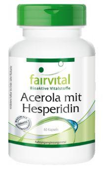 Acerola mit Hesperidin - 60 Kapseln | Vitalstoffe & Gesundheitsprodukte online kaufen | Fairvital