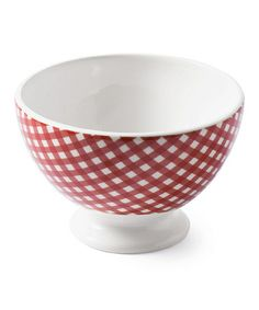 Look at this #zulilyfind! Red 6'' Sarah Bowl #zulilyfinds