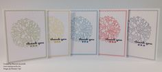 Regarding Dahlias thank you cards
