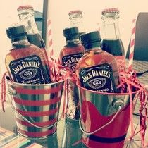 Boozy Jack & Coke Christmas presents for my awesome coworkers Powered by RebelMouse Homemade Christmas, Diy Christmas Gifts, Christmas Fun, Holiday Gifts, Mason Jar Gifts, Mason Jar Diy, Beer Gifts, Food Gifts, Valentine Drinks