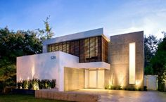 Awesome Original Contemporary House Designs Facade Minimalist: Awesome Original Contemporary House Designs Facade Minimalist 950x587 Best Photo 01