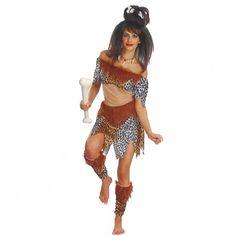 #Costume #Disfraz de Cavernicola para mujer Rebajado
