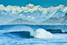 """This is surfing in Canada"" - Tofino, British Columbia - by Jeremy Koreski - for Global Yodel The Places Youll Go, Places To Go, West Coast Canada, Water Surfing, Surfer Magazine, Surfing Pictures, Vancouver Island, British Columbia, The Great Outdoors"