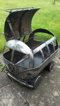 Very cool vw bus grill