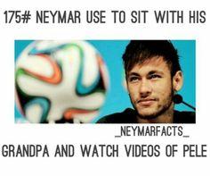 Neymar Facts Football Stuff, Sport Football, Love You Babe, My Love, Neymar Pic, Pin Pics, Sports Memes, World Cup 2014, Best Player
