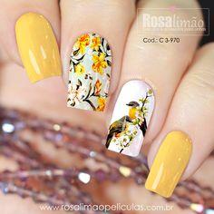 Aycrlic Nails, Feet Nails, Diy Nails, Feet Nail Design, Toe Nail Designs, Latest Nail Designs, Yellow Nail Art, Instagram Nails, Classy Nails