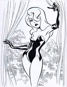 [Artwork] Poison Ivy by Bruce Timm or earlier)You can find Poison ivy and more on our website.[Artwork] Poison Ivy by Bruce Timm or earlier) Poison Ivy Comic, Poison Ivy Cartoon, Dc Poison Ivy, Poison Ivy Dc Comics, Poison Ivy Cosplay, Bruce Timm, Pin Up Drawings, Drawing Sketches, Personajes Studio Ghibli