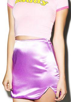 O Mighty Silk Kitten Skirt