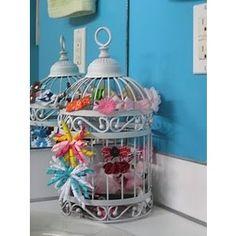 birdcage bow holder?