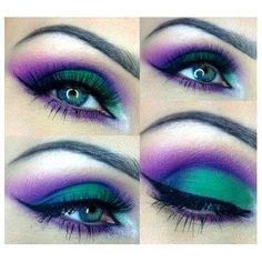 Halloween witches!   Make up!!!   Pinterest