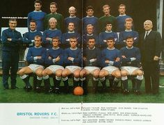 Bristol Rovers team group in Bristol Rovers Fc, Team Pictures, Football Team, 1960s, How To Memorize Things, England, Memories, Sport, Group