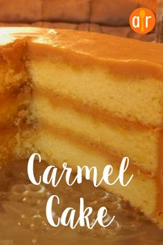 Grandma's Desserts - Dessert recipes that your mom, your grandmother (or your lunch lady) used to make from scratch - grandma's caramel cake recipe - Homemade Potluck and Family Reunion Dessert Ideas That Will Even Please Your Church Crowd Easy Smoothie Recipes, Easy Cake Recipes, Baking Recipes, Snack Recipes, Dessert Recipes, Food Cakes, Cupcake Cakes, Cupcakes, Southern Caramel Cake
