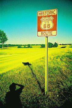 route 66 / Chicago , Illinois , Missouri, Kansas , Oklahoma , Texas , Novo México , Arizona e Santa Mônica