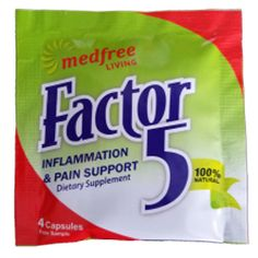 FREE MedFree Living Factor 5 Pain Relief Sample - http://freebiefresh.com/free-medfree-living-factor-5-pain-relief-sample/
