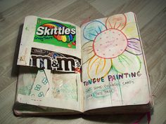 tongue painting wreck this journal