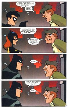 Robin and Batgirl need to work on their Batman