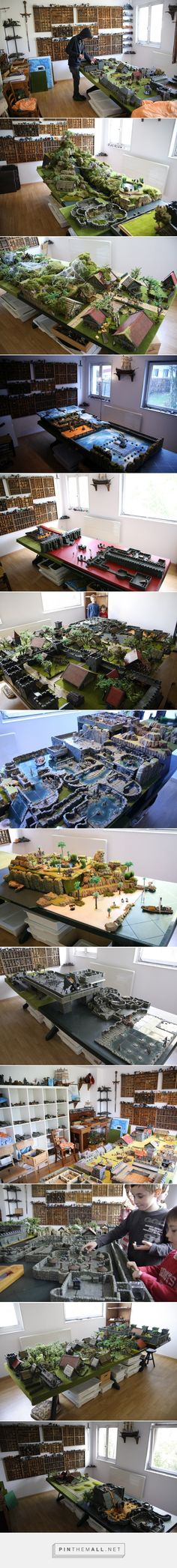 Gaming room, Salle de jeu de role, dwarvenforge.info - created via http://pinthemall.net