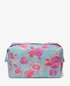 Floral Cosmetic Bag   FOREVER 21 - 1025101663