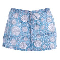 The texture of the shorts is lovely and really goes well with the colour blue.