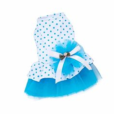 Pet Dog Dress,SJINC(TM) 2015 Romantic, Lovely, Puppy Dog, Princess, Tutu, Dress (S, Blue) HP95(TM) http://www.amazon.com/dp/B00S99GST6/ref=cm_sw_r_pi_dp_ulVSwb0BFCEW3