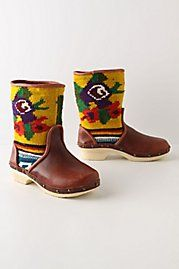 Vintage Tapestry Boots  $588.00
