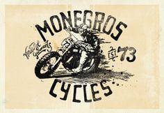 Monegros cycles Illustration BCN