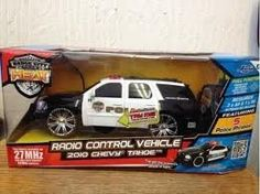 2006 Ford Mustang Gt Police Car Radio Controled by Jada Toys. $17.48. 5 Police phrases!. Realistic Lights and Sounds!. Radio Controlled Vehicle. Approx: 7 inches long. Full function, forward, reverse, left and right steering. 2006 Ford Mustang Gt Police Car Radio Controled