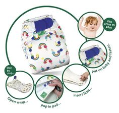 TotsBots PeeNut| Award Winning Reusable Nappies | TotsBots