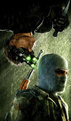 Splinter Cell, es una saga de videojuegos basado en acción e infiltración, donde lo mejor es no hacer ruido. su historia se desarrolla en los años 90.