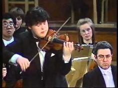 Vadim Repin Tchaikovsky concerto mvt 1 Concours Reine Elisabeth 1989