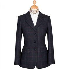 Cordings Ladies Burford Storm Tab Tweed Jacket. Shop now.