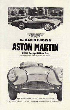 Aston Martin, DB3S Competition Car | Slavomir Krestian | slavomirkrestian.com