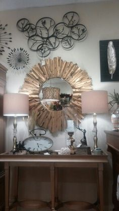 Brackett & Company. New mirrors just in