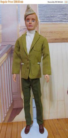 ON SALE 25% Vintage Ken 5  Barbie Doll Mattel 1960s by DressMeDoll