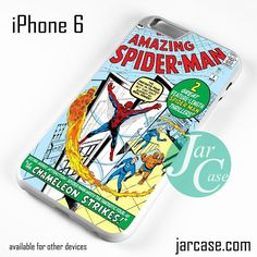 Comic Cover The Amazing Spiderman Phone case for iPhone 6 and other iPhone devices