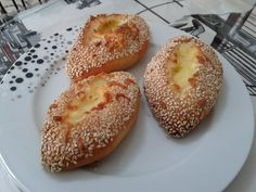 Turkish Recipes, Bagel, Yummy Food, Bread, Desserts, Tailgate Desserts, Deserts, Delicious Food, Brot