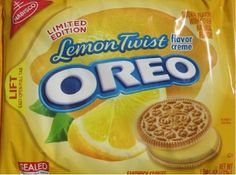 Lemon Twist Oreos – The Best Limited Edition Oreo You've Probably Never Heard Of.