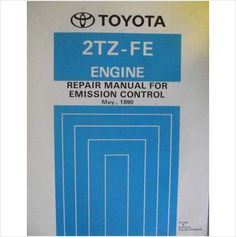 Toyota Emission Control Repair Manual 2TZ-FE 1990 ERM067E Listing in the Toyota,Car Manuals & Literature,Cars & Trucks Parts & Accessories,Cars & Vehicles Category on eBid United Kingdom